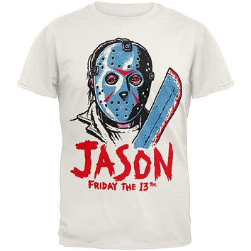 Friday The 13th - Drawn Ringer T-Shirt
