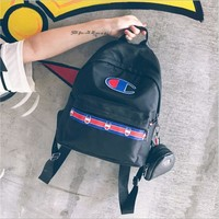 DCCKJ1A Champion of the two pieces of Champion nylon backpack