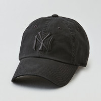 American Needle NY Yankees Baseball Hat , True Black