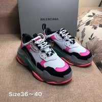 Casual Balenciaga Triple-S Sneaker Casual Shoes Clunky Sneakers