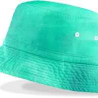 Seafoam Bucket HAt created by Christy Leigh   Print All Over Me