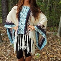 Little Bits Of Everything Poncho