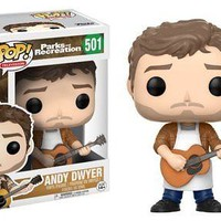 Funko Pop Television: Parks & Rec-Andy Dwyer Collectable Figure xyz