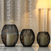 Aliexpress Decorative Bird Cages Weddings Black Metal Candle Holders Home Decor For Wedding Centerpieces