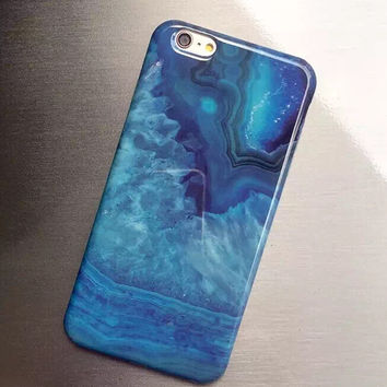 Unique Stone Cover Case for iPhone 5s 5se 6 6s Plus Gift 334