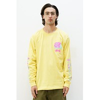 Rosebud LS Tee in Lemon