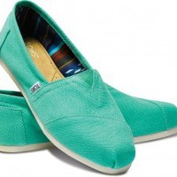 Pool Green Women's Canvas Classics