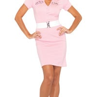 Beauty School Drop Out Costume, Grease Costume, Movie Costume, Pink Costume, Pink Dress