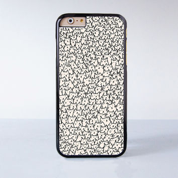 Lots of cute cats Plastic Case Cover for Apple iPhone 6 6 Plus 4 4s 5 5s 5c