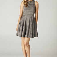 Flared And Flowy Knit Dress