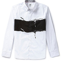 Marc Ecko Cut & Sew In The Fray Woven Shirt - White