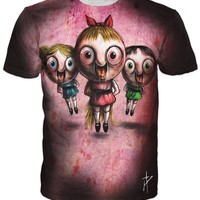 PowerPuff Girls on Ecstasy T-Shirt