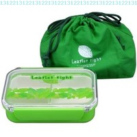 650ml Lunch Box Bento Box with a Green Bag / Made in Japan:Amazon:Home & Kitchen