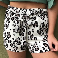The Roar Shorts- White
