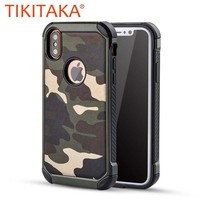 Camouflage Case For iphone X Shockproof Cases For iphone 10