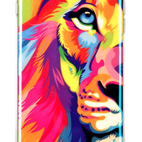 iPhone 6 Watercolor Lion Case
