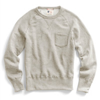 Pocket Sweatshirt in Oatmeal