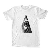 Triangle Eye hipster indie Illuminati For T-Shirt Unisex Adults size S-2XL