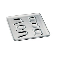 Aleph-Bet Seder Plate by Nambe, Plates & Sets Size: 14 L x14 W