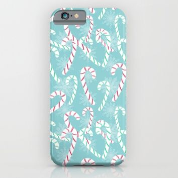 Frosty Canes iPhone & iPod Case by Lisa Argyropoulos