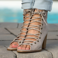 Brie Lace Up Bootie