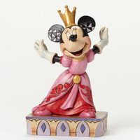 Jim Shore Disney Traditions Minnie Mouse - Queen For A Day - 4048655