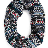 BIRDSEYE FAIRISLE SCARF - Scarves - Shoes and Accessories