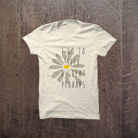 IGO - 014 I go to seek a Great Perhaps - Looking for Alaska - John Green Tshirt Cotton Blend Fashion T-Shirt