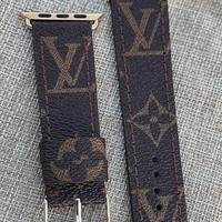 Apple watch band, LV watch strap, Apple watch straps, Lv Apple watch band, Lv monogram strap, louis vuitton apple watch band, apple watch 3