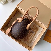 Louis Vuitton LV Egg bag Women Leather Shoulder Bag Crossbody Satchel Handbag