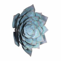 Lotus Large Wall Decor Blue