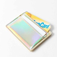 Metallic Card Case | Urban Outfitters