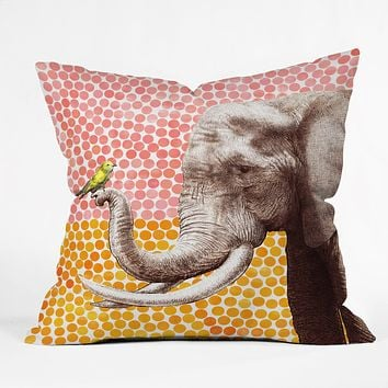 Garima Dhawan New Friends 2 Outdoor Throw Pillow