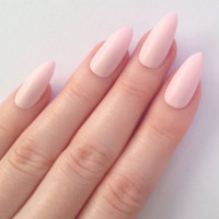 Matte lilac stiletto nails, Nail designs, Nail art, Nails, Stiletto nails, Acrylic nails, Pointy nails, Fake nails, False nails