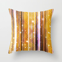 Luxury Party Dreams Futuristic Abstract Design Throw Pillow by Danflcreativo