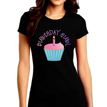 TooLoud Giant Bright Blue Cupcake Infant T-Shirt