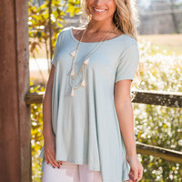 Love Comes Back Top, Mint