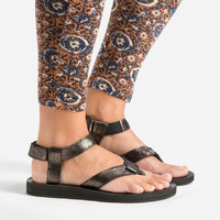 Teva® Official | Women's Original Sandal Leather Metallic | Free Shipping at Teva.com