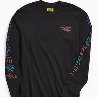 Chinatown Market Neon Open Long Sleeve Tee   Urban Outfitters