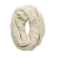 AERIE OPEN KNIT CIRCLE SCARF