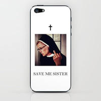 AHS Save Me Sister iPhone & iPod Skin by Rich Wilde
