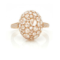 Rosebud Rose Gold Ring | Moda Operandi