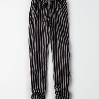 Don't Ask Why Paper Bag Pant , Bold Black