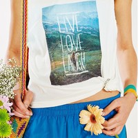 Thinking Mu Live Love Laugh Tank Top - Urban Outfitters