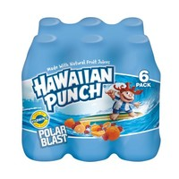 Hawaiian Punch Polar Blast, 10 fl oz, 6 pack - Walmart.com
