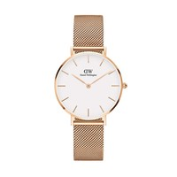 Womens watch - Classic Petite Melrose 32 mm (white) - Daniel Wellington
