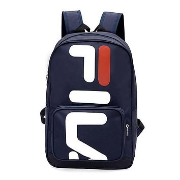 FILA Woman Men Fashion Backpack Bookbag Daypack