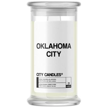 Oklahoma City City Candle
