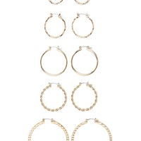 Hoop Earring Set