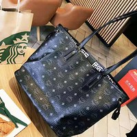 MCM hot seller of casual ladies printed shopping bag, a stylish two-piece one-shoulder bag